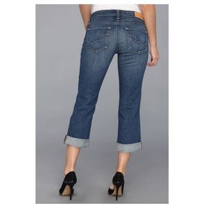 Big Star Jeans Rikki Low Rise Crop 29 Stretch
